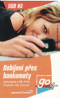 Czech Republic, Eurotel - Go Coupon 550 Kč, In Year 2006 Renamed To Telefonica O2 - Czech Republic