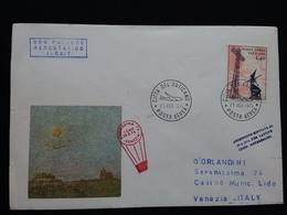 VATICANO - Venezia - Ascensione Rinviata + Spese Postali - Posta Aerea