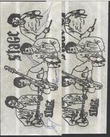 2 X Stage Waar Van Met 1 X Handtekening...wie ? - NOT  Used   -  See The 2  Scans For Condition. ( Originalscan !!! ) - Autographs