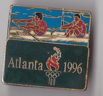 PIN'S THEME SPORT AVIRON JEUX OLYMPIQUES  ATLANTA 1996 - Rowing