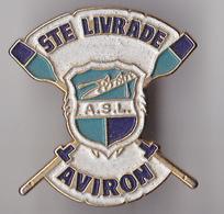 PIN'S THEME SPORT AVIRON SAINTE LIVRADE  EN  LOT ET GARONNE - Rowing