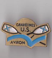 PIN'S THEME SPORT AVIRON CLUB DE GRAVELINES DANS LE NORD - Aviron