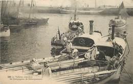 VEDETTES Attendant Les Compagnies De Débarquement (cachet Carte Quiberon). - Guerre