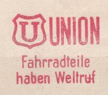 BICYCLE Germany 1949 Mi Bicycle Meterstamps Factory Parts Enlarged...................................................713 - [7] Federal Republic