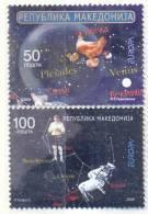 MK 2009-502-3 EUROPA CEPT, MACEDONIA, 1 X  2v, MNH - Macedonia