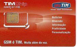 Pack Phonecard TIM - Brazil - Brésil