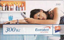 Czech Republic, Eurotel - Go Coupon 300 Kč, In Year 2006 Renamed To Telefonica O2, - Czech Republic