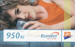 Czech Republic, Eurotel - Go Coupon 950 Kč, In Year 2006 Renamed To Telefonica O2, - Czech Republic