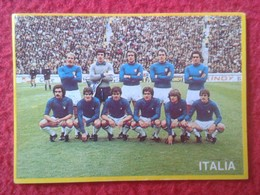 CROMO DANONE COLECCIÓN FÚTBOL EN ACCIÓN MUNDIAL DE ESPAÑA 1982 82 FOOTBALL WORLD CUP SOCCER ALINEACIÓN ITALIA ITALY VER - Cromos