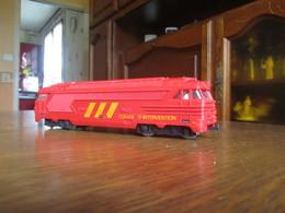 CD59 Fobbi, Motrice SNCF Convoi D'intervention, Made In France - Locomotives