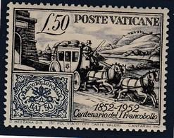 VATICANO 1952 - Yvert#173 - Vaticano (Ciudad Del)