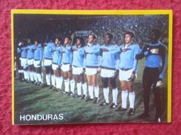 CROMO DANONE COLECCIÓN FÚTBOL EN ACCIÓN MUNDIAL DE ESPAÑA 1982 82 FOOTBALL WORLD CUP SOCCER ALINEACIÓN HONDURAS VER FOTO - Cromos