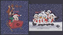 SIERRA LEONE 1998 - Disney Christmas Overprinted - Mi B390-1; CV=15 € - Disney