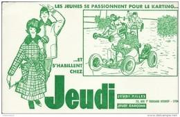 """Buvard """"JEUDI"""". - Textile & Clothing"""