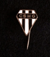 TOP RARETE - ANCIEN INSIGNE BOUTONNIÈRE RUGBY CSMG GENNEVILLIERS ANNEES 70 ( NO PINS PIN'S) - Rugby