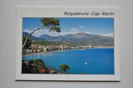 Roquebrune-Cap-Martin - Vue Générale. - Carte Originale NO REPRO,  Dos Divisé! - - Roquebrune-Cap-Martin