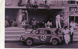24 Heures Du Mans 1950  -  Renault 4CV   -  Pilote: Juste-Emile Vernet  -  15x10 PHOTO - Le Mans