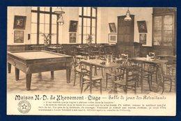 Liège.Maison Notre-Dame De Xhovémont. Salle De Jeux Des Retraitants. Billiard. 1913 - Liege