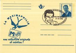 Belgié - 27-10-1996 - Boekenbeurs Antwerpen - Paul Van Ostaijen - Antwerpen - Schrijvers