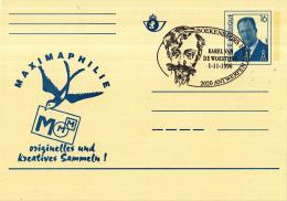 Belgié - 01-11-1996 - Boekenbeurs Antwerpen - Karel Van De Woestijne - Antwerpen - Schrijvers