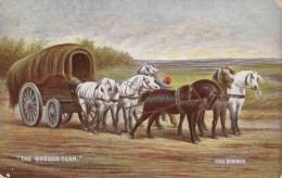 AR57 Animals - The Waggon Team, Horses, Artist Rosa Bonheur - Horses