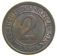 [NC] DEUTSCHLAND / GERMANY - Weimarer Republik - 2 REICHSPFENNIG ( 1924 A) - [ 3] 1918-1933 : Repubblica Di Weimar