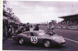 24 Heures Du Mans 1965  -  Alpine Renault A110 GT4  -  Pilotes: Jacques Cheinisse/Jean-Pierre Hanrioud  -  15x10 PHOTO - Le Mans