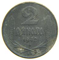 [NC] SERBIA - 2 DINARA ZINCO 1942 - Serbia