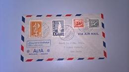 BUSTA AFFRANCATA ISLANDA 1945 - 1944-... Republic