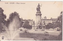 CPA - 5066. LYON - Place Carnot - Lyon