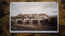 Brecon - River And Bridge - 1948 - 2d Stamp - Wales, Breconshire - Breconshire