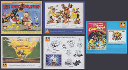 GUYANA 1993 - Disney Posters - Mi B363-7; CV=42 € - Disney