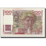 France, 100 Francs Jeune Paysan, 1947-01-09, NEUF, Fayette:28.13, KM:128b - 1871-1952 Anciens Francs Circulés Au XXème
