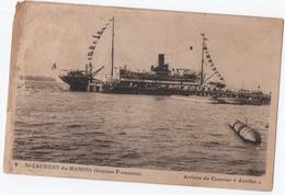 A185 Guyane Guiana S Tlaurent Du Maroni Arrivée Du Courrier Antilles (défauts) ( Delabergerie 9 ) - Saint Laurent Du Maroni