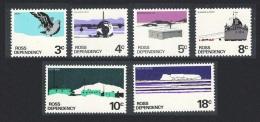 Ross Dep. Polar Skua Bird Polar Base Transport 6v SG#9a-14a - Unclassified