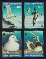 Ross Dep. WWF Antarctic Seabirds 4v SG#44-47 SC#45-48 MI#50-53 SALE BELOW FACE - Unclassified