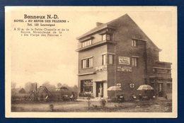 Banneux -Notre-Dame. Hôtel -Café-Restaurant  Au Repos Des Pélerins. Propr. J. Halleux - Sprimont
