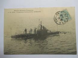 """"""" DORADE  """"  TORPILLEUR SUBMERSIBLE       TTB - Submarines"""