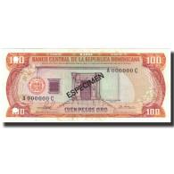 Billet, Dominican Republic, 100 Pesos Oro, 1981, 1981, Specimen, KM:122s1, NEUF - Dominicana