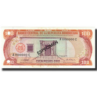 Billet, Dominican Republic, 100 Pesos Oro, 1981, 1981, Specimen, KM:122s1, NEUF - Dominicaine