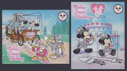 GRENADA 1999 - Disney Dream Wedding - Mi B515-6; CV=11 € - Disney
