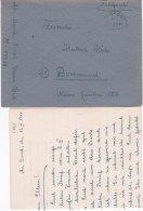 German Feldpost WW2: 6. Vorposten-Flottille SG 1 FP M49912 P/m 14.3.1944 - Letter Inside. Operational Area: West France - Militaria