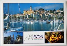 Menton - Côte D'Azur.- Carte Originale NO REPRO,  Dos Divisé! - - Menton