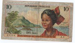 CA8 Billet Des Antilles Et De Guyane 10 Francs - Unclassified