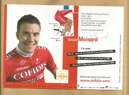 Amaël Moinard Né à Cherbourg (50) Pro Cycling Team Cofidis 2007 2 Scans - Cycling