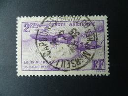 TIMBRE  FRANCE  POSTE AERIENNE N° 7  OBLITERE  Cote 7 €  OBLITERATION MARSEILLE CAPUCINES 1935 - 1927-1959 Oblitérés