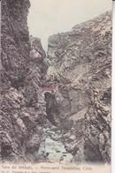 SALTO DEL SOLDADO. FERRO-CARRIL TRASANDINO. J ALLAN. No 67. CIRCA 1900's. CHILE.-TBE-BLEUP - Chili