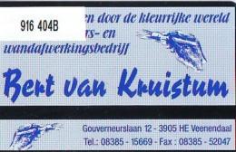 Telefoonkaart  LANDIS&GYR  NEDERLAND * RCZ 916  404b * Bert Van Kruistum *   TK * ONGEBRUIKT * MINT - Privé