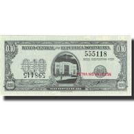 Billet, Dominican Republic, 10 Centavos Oro, Undated (1961), Specimen, KM:86s - Dominicaine