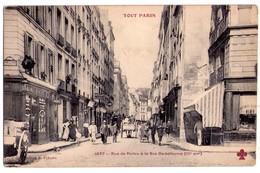 """1649- Paris ( IIIe ) - Rue De Poitou à La Rue Debelleyme - """" Tout Paris """" - Coll. F.Fleury - N°1247 - - Arrondissement: 03"""